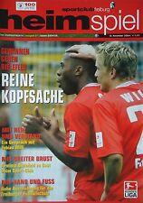 Bielefeld Programm BL 1995//96 SC Freiburg Werder Bremen Pokal