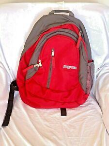 JANSPORT Red / Gray Color Backpack - EXCELLENT
