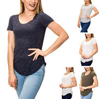 Vero Moda Damen T-Shirt Kurzarmshirt O-Neck Basic Short Sleeve Streetwear