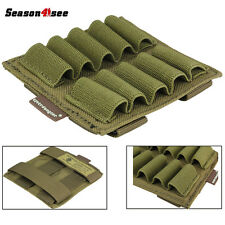 Tactical Molle Portable Pouch for Glowing Sticks Light Sticks Case Coyote Brown