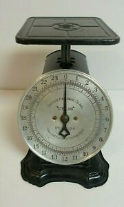 """Rare """"Sterling"""" Simmons Hardware Store Country Store Advertiser Scale"""