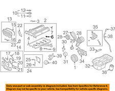 MD372348 Mitsubishi Seal, cylinder head camshaft end MD372348, New Genuine OEM P
