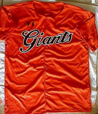 Under Armour - Yomiuri Giants Fan Jersey Orange M san francisco baseball japan