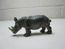 Small plastic Rhino Chubby Unicorn Euc School Project Diorama Play