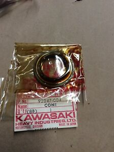 KAWASAKI KE100 KD80 KM100 F6  F7 G5 MC1 LOWER BEARING CONE OEM NOS 92047-004