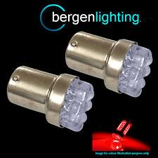 207 1156 BA15s 245 382 P21W XENON RED 8 TESTATA FANALE POSTERIORE A LED