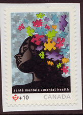 CANADA 2011 SUPPORT MENTAL HEALTH  SURCHARGE STAMP UNMOUNTED MINT, MNH.