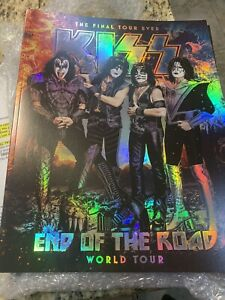 KISS 2020 End Of The Road Concert TOUR BOOK, PROGRAM,programme,tourbook,V5