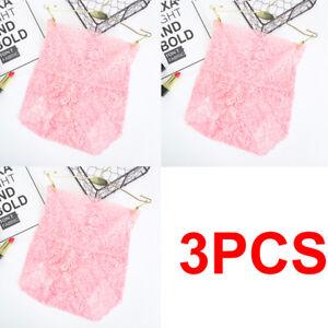 Women Lace Panties 3Pack Plus Size Underwear High Waist Knicker Lingerie Female