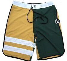 "NEW Hurley Men's Phantom Block Party Board shorts Sz 34"" A85"