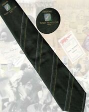 Zimbabwe 1991 Rugby World Cup player's tie- 7.5cm wide RUGBY TIE
