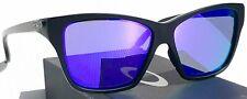 NEW!  Oakley HOLD ON Matte Black w Violet Lens Women's Sunglass 9298