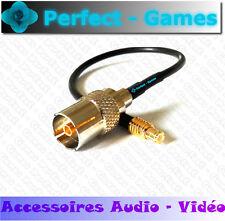 Câble antenne TV coaxial RF femelle vers Mini connecteur MCX mâle ideacentre