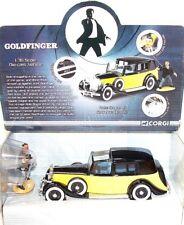 Corgi Toys 1:36 JAMES BOND 007 ROLLS ROYCE GOLDFINGER Movie Car #CC06803 MIB`09!