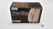 NOS, GTE Starlite Rotary Dial Wall Phone, Beige Tan Telephone, H920101ACSL 55010