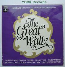 GREAT WALTZ - Cast Recording - Excellent Con LP Record Columbia SCX 6429