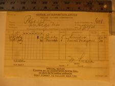 Movie Billhead Realart 5/30/1920 Nurse Marjorie-Mary Miles Minter Arthur Hoyt