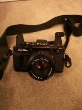 FUJI AX MULTI PROGRAM 35mm Film SLR Manual Camera with extras!