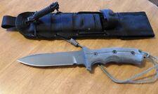 CHRIS REEVE New Bill Harsey Short Green Beret Plain Edge Blade Knife/Knives