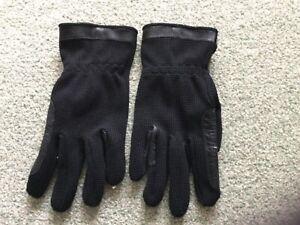 Black  Riding Gloves…Size Large…..New.