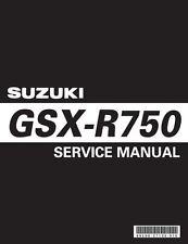 Suzuki GSX-R 750 Service Repair Workshop Maintenance **PDF** Manual 2006 - 2007