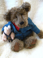 Boyds Plush Bear Billy Ray Beanster + Petey Porker Limited Edition 900207