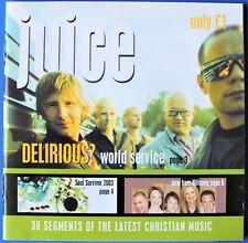 JUICE CHRISTIAN MUSIC SAMPLER CD ALBUM. UK DISPATCH.