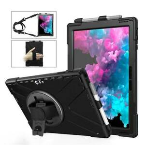 """For 12.3"""" Microsoft Surface Pro 7 2019 6 5 4 Case Rugged Shockproof Hybrid Cover"""