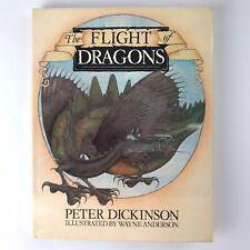 """The Flight of Dragons"" by Peter Dickinson/Wayne Anderson(1979, HC/DJ) 1st US Ed"