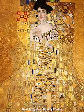 "Portrait of Adele Bloch-Bauer 8.5x11"" Photo Print Lady In Gold Gustav Klimt 1907"