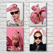 Lady Gaga Poster A4 NEW Set HQ Print Sexy Hot Home Wall Decor