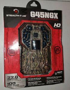 Stealth Cam G45NGX No Glow Camo 22MP Infrared HD Trail Camera STCG45NGX-NEW/SEAL