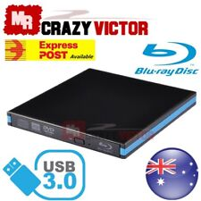USB 3.0 External Blu-ray Disc Player Combo DVD CD RW Burner Drive for Laptop 3d