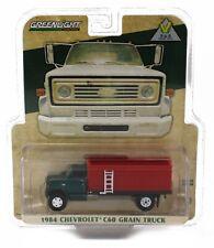NEW! 1:64 Greenlight 1984 Chevrolet C60 *GRAIN TRUCK* GREEN & RED *NIP*