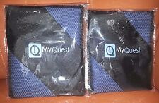 MyQuest Microfiber Towel With Case - Premium Antimicrobial Small NEW-Lot of 2