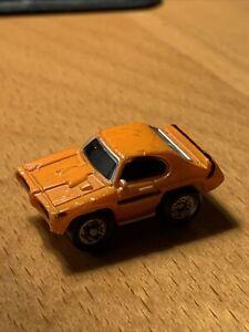 Micro Machines Pontiac GTO Orange Black Stripe