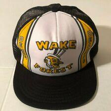 New ListingVtg Wake Forest Demon Deacons Mesh Snapback Hat Cap Unworn