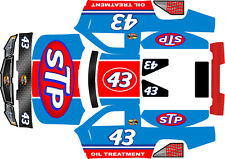 LOSI 5SC WOODSTER WIDE HPI BAJA 5T blue king Theme  body wrap decals stickers