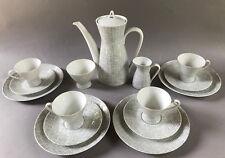 15 pièces porcelaine service à café 2000 seidenbast Latham Loewy ROSENTHAL ~ 1954