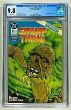 SWAMP THING #67 CGC 9.8 NM/M WHITE PAGES (DC 1987) 🔑 HELLBLAZER PREVIEW 🔑