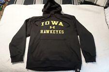 IOWA HAWKEYES LONG SLEEVE HOODIE PULLOVER SWEATSHIRT XL UNDER ARMOUR 1241400-431