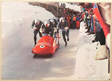 (PRL) BOB A QUATTRO OLIMPIADI DEUTSCHLAND TEAM AFFICHE PRINT POSTER COLLECTION