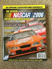 THE OFFICIAL NASCAR PREVIEW AND PRESS GUIDE - 2006 - excellent condition