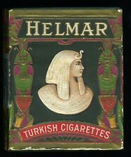 Antique Helmar Turkish Egyptian Cigarette Tobacco Box 1910