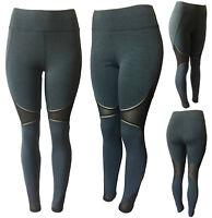Women Yoga Fitness Gym Running Workout Active Wear Tall Length Leggings Pants