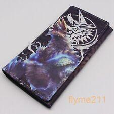 Monster Hunter Coin purse cosplay long wallet Billfold