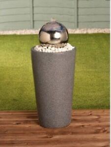 New Stainless Steel Gazing Ball Water Garden Water Feature