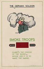 NEW A4 PRINT WW2 THE GERMAN SOLDIER BRITISH ARMY RECCE POSTER SMOKE TROOPS