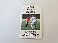 RS20 UNLV Rebels 1994 Men's Soccer Pocket Schedule - Coors