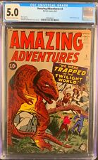AMAZING ADVENTURES  #3  Early Silver Age!  1961  CGC